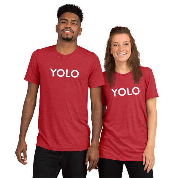 YOLO short sleeve t-shirt
