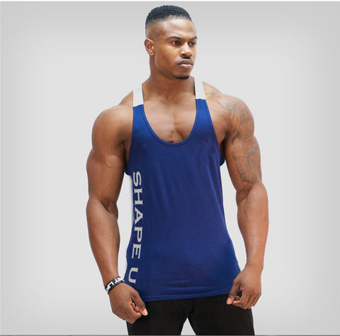 Dry Fit U-Neck Y-Back Muscle Tank Top