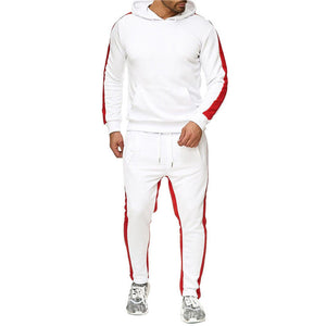 New hooded sports suit