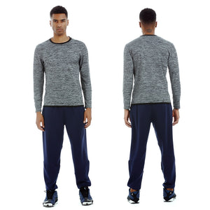 Men's Long Sleeve Gym Dry Fit Shirt