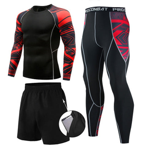 Men's quick-drying sports 3 Piece suit