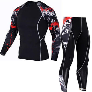 Men's Compression Sportswear Suits