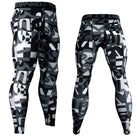 Men's Camouflage Compression Leggings Running Pants