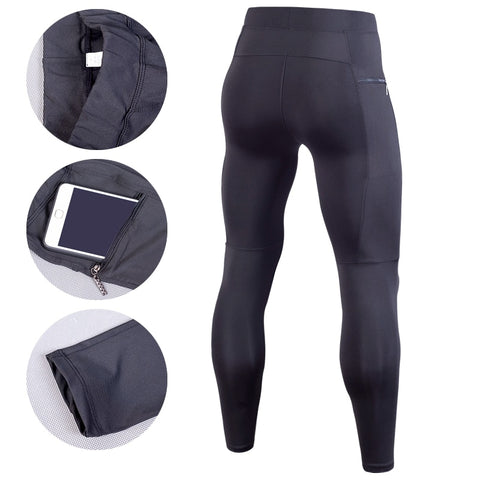 Men Compression Pant With Pocket
