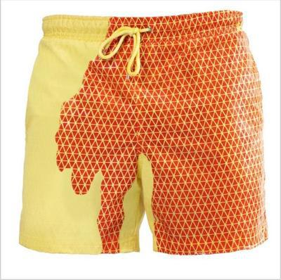 Discoloration in water Beach Shorts Swimming pants