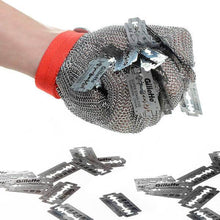 Load image into Gallery viewer, Alforca Stainless Steel Metal Mesh Safety Glove