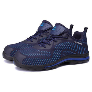 Alforca ALL SEASONS Lightweight Bulletproof Midsole Anti-puncture Safety Shoes - Alforca