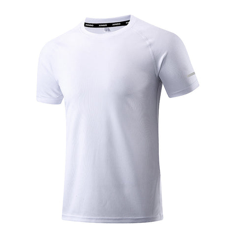 Quick-drying men's sports short-sleeved Breathable Wicking