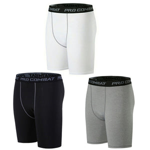 2 Pack Compression Shorts for Men