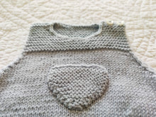 Load image into Gallery viewer, Baby Knit Top baby Blue with Pocket 6 Months