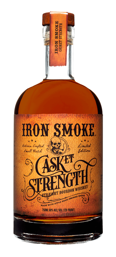Iron Smoke Casket Strength Straight Bourbon Whiskey