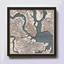 Load image into Gallery viewer, Charleston Wooden Map
