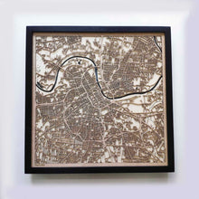 Load image into Gallery viewer, Nashville Wooden Map