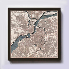 Load image into Gallery viewer, Ottawa Wooden Map