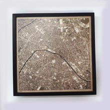 Load image into Gallery viewer, Paris Wooden Map