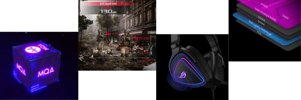 ASUS ROG Delta S USB-C Gaming Headset with AI noise-canceling mic