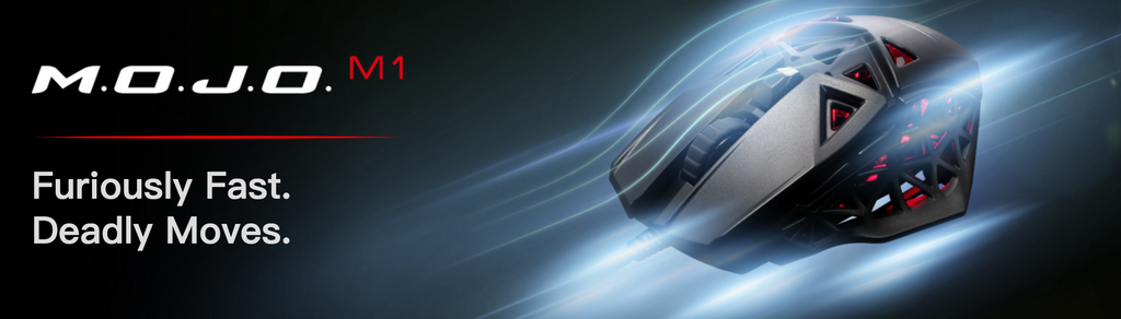 Mad Catz M.O.J.O. M1 Lightweight Optical Gaming Mouse, black dele nordic gaming Finland