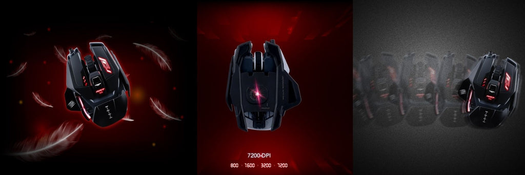 Mad Catz The Authentic R.A.T. Pro S3 Optical Gaming Mouse SUPERIOR OPTICAL SENSOR GAMING EXPERIENCE dele nordic Finland gaming, BLACK