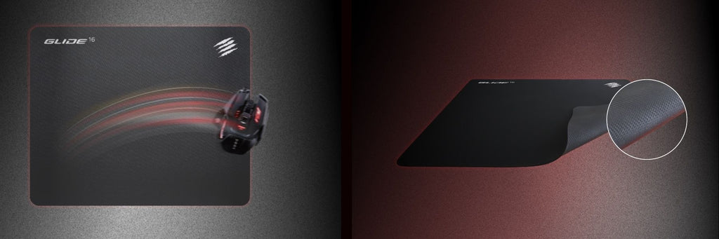 """Mad Catz The authentic GLIDE 16 """"gaming surface Mouse pad BUILT FOR YOUR PLAYSTYLE dele nordic gaming finland"""