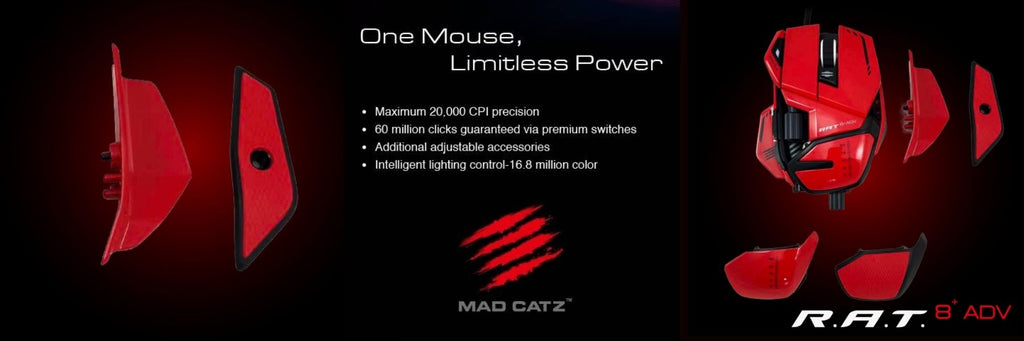 Mad catz rat8 adv gaming mouse dele nordic gaming mouse 2