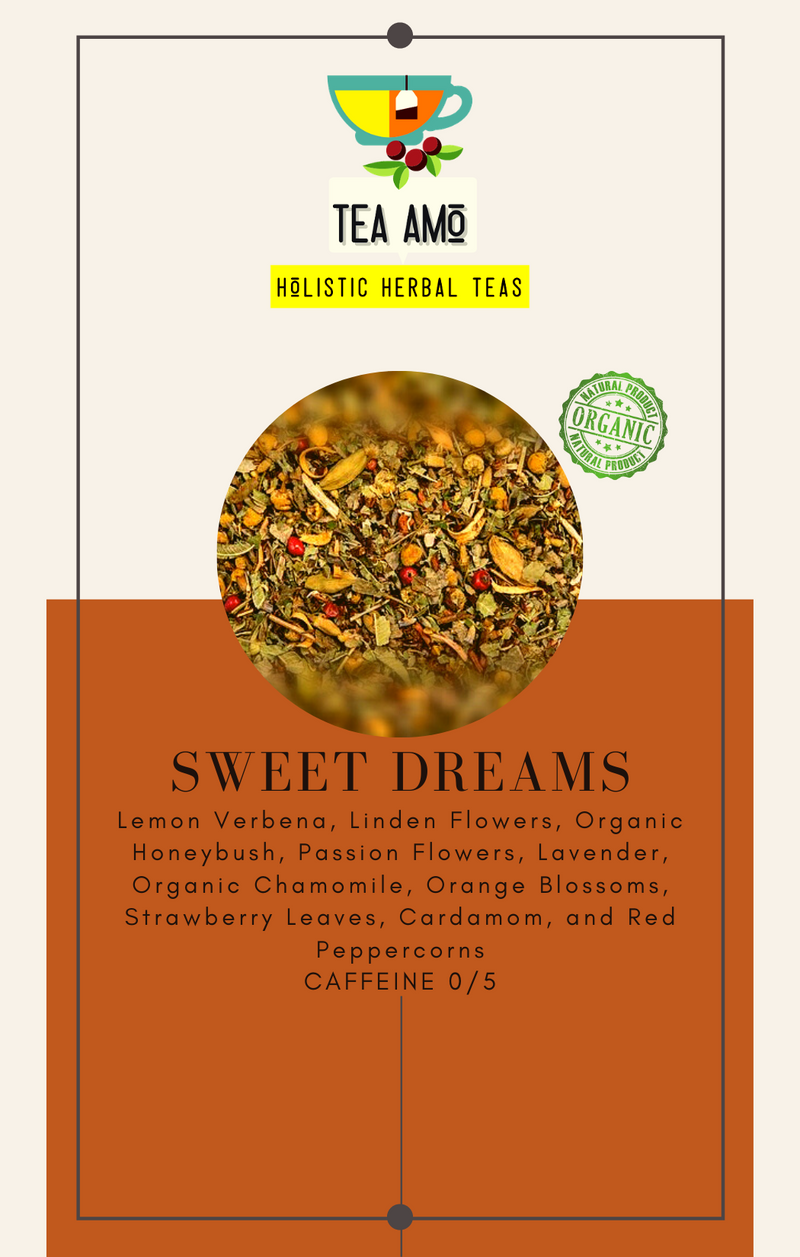 Tea Amo Wellness: Sweet Dreams (Organic) Tea