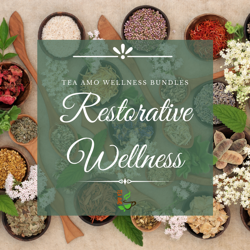 Tea Amo Wellness Bundles: Restorative Wellness Pack