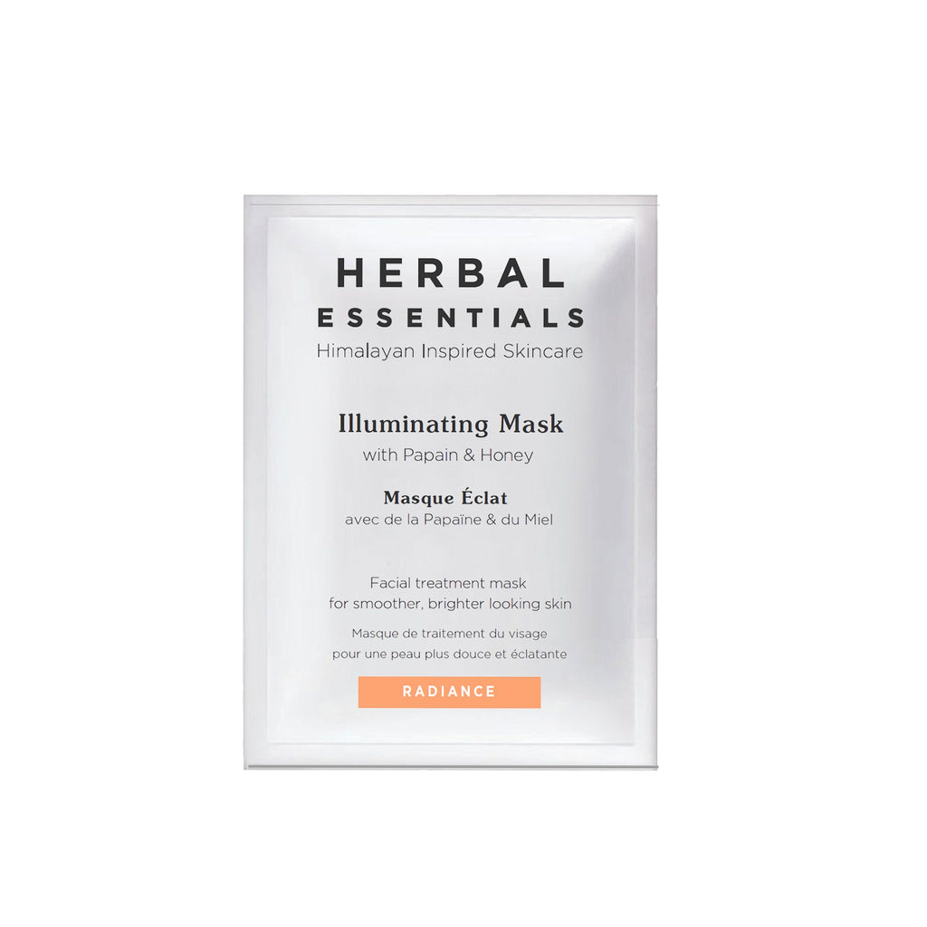 Herbal Essentials Illuminating Face Mask with Papain & Honey 5ml