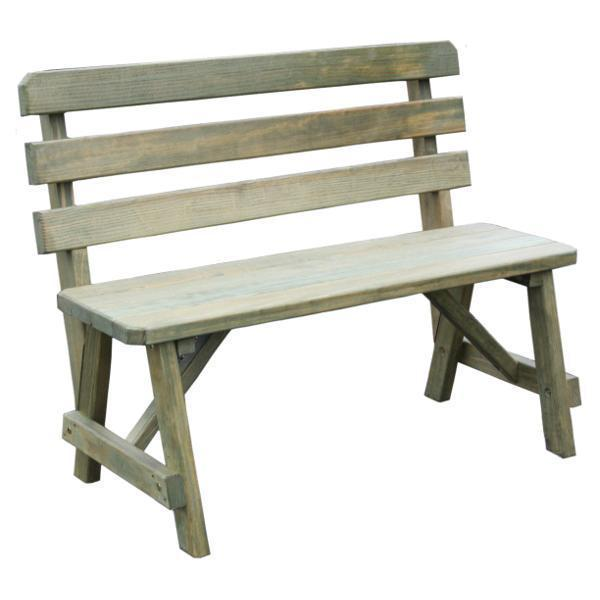 8 Foot or More Outdoor Benches