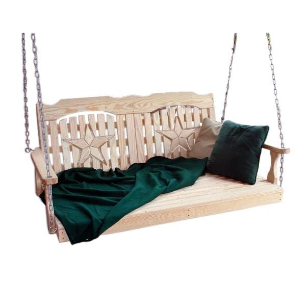6 Feet or Longer Porch Swing Beds