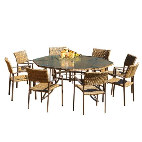 8-9 Piece Patio Dining Sets