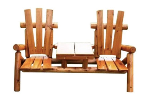 Children's Classic Tete A Tete by Moon Valley Rustic Furniture