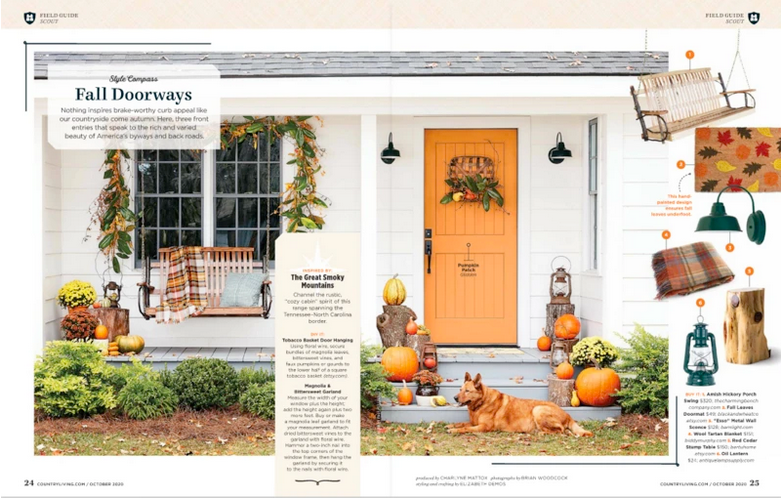 Featured in Country Living Magazine