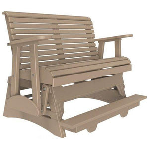 Plain Poly Balcony Glider Chair