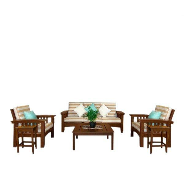 6 Piece Deep Seating Set