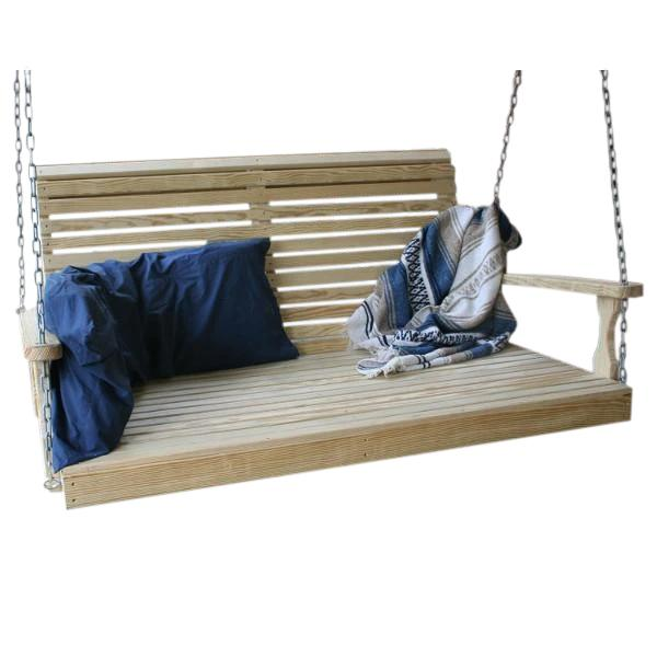 "60"" Treated Pine Rollback Swingbed"