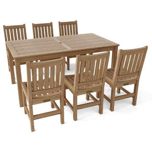 7-Pieces Sonoma Rectangular Dining Set