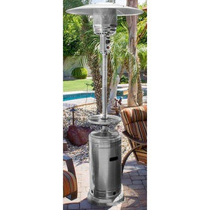 "87"" Tall Outdoor Patio Heater with Table Patio Heater"