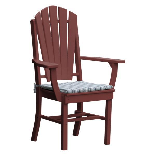 Buy The A Amp L Furniture Adirondack Dining Chair W Arms