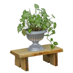 A & L Furniture Briar Patch Flower Pot Bench Garden Benches 2ft / Unfinished