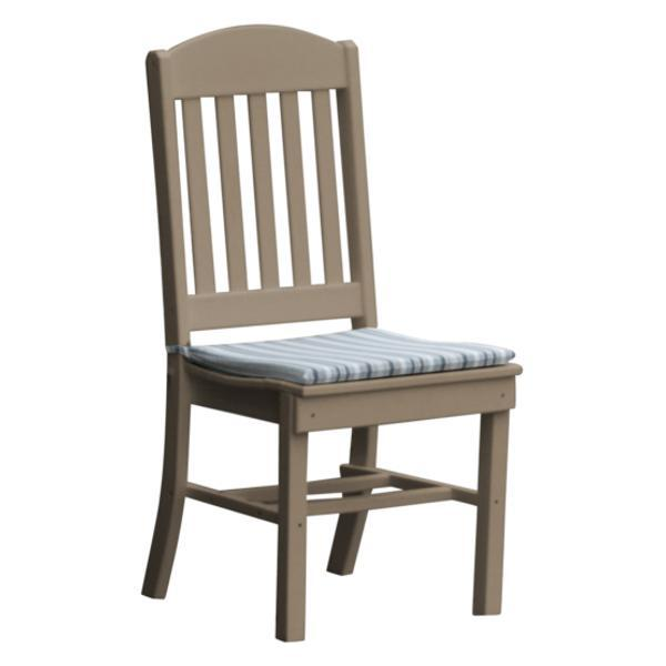 A & L Furniture Classic Dining Chair Outdoor Chairs Weathered Wood