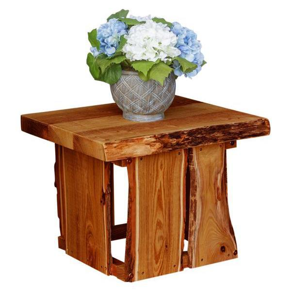 A & L Furniture Evening Grove Side Table Side Table Cedar