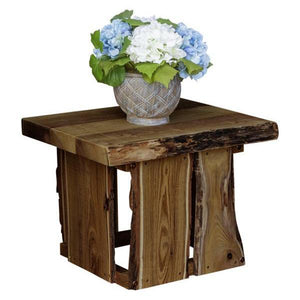 A & L Furniture Evening Grove Side Table Side Table Mushroom