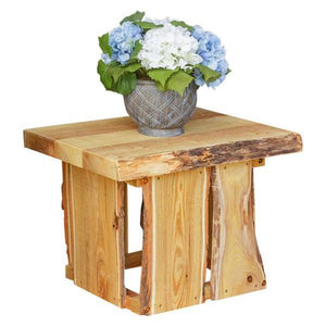 A & L Furniture Evening Grove Side Table Side Table Natural