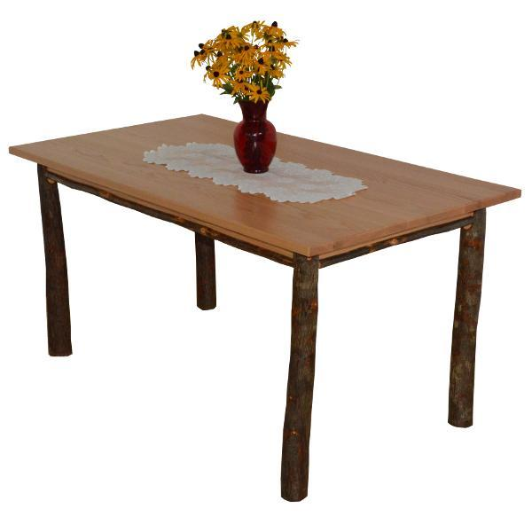 A & L Furniture Hickory Farm Table Table 5ft / Natural