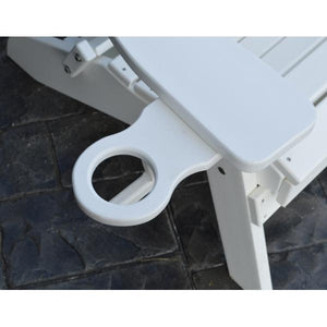 A & L Furniture Poly Cup Holder (Attach under arm to any piece of furniture) Cup Holders Aruba Blue