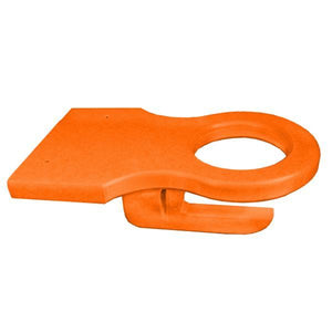 A & L Furniture Poly Cup Holder (Attach under arm to any piece of furniture) Cup Holders Orange