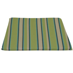 A & L Furniture Poly Dining Chair Seat Cushion Cushions & Pillows Lime Stripe