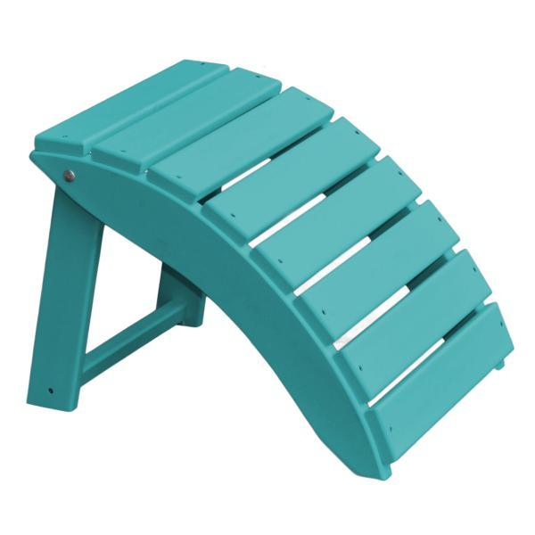 Sensational A L Furniture Recycled Plastic Poly Folding Ottoman Ibusinesslaw Wood Chair Design Ideas Ibusinesslaworg