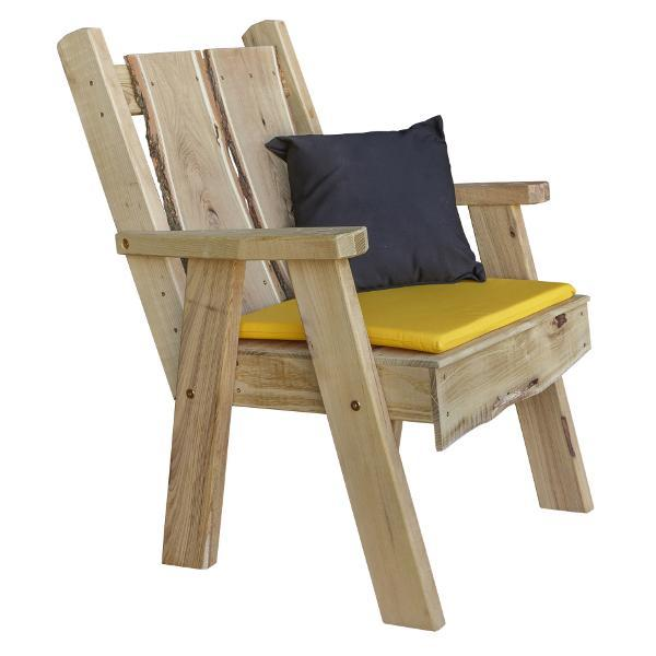 A & L Furniture Timberland Chair Outdoor Chairs Unfinished