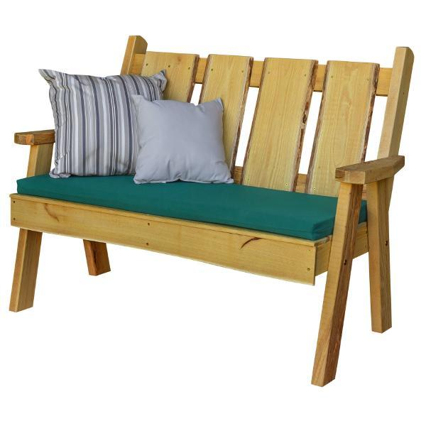 A & L Furniture Timberland Garden Bench Garden Benches 4ft / Unfinished